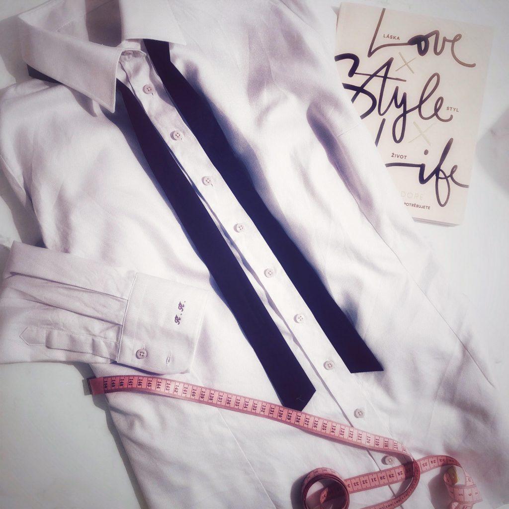 minimalistický šatník, stylistka