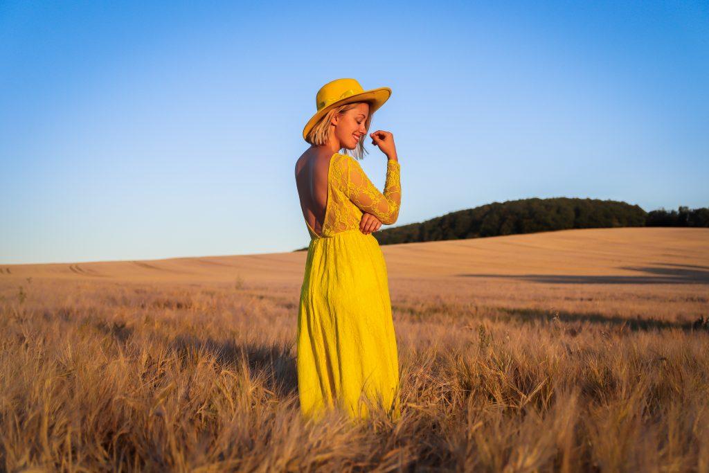 Stylemon, blog, blogerka, žlutá, lenka, Madlenová, štěstí
