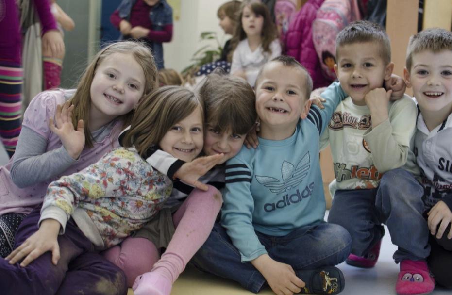 děti z SOS dětských vesniček