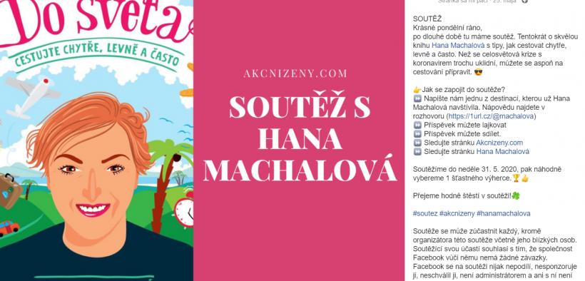 Soutěž s Hana Machalová